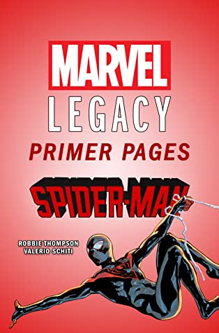 Spider-Man - Marvel Legacy Primer Pages