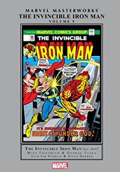 Iron Man Masterworks Vol. 9