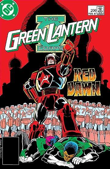 Green Lantern Corps (1986-1988) #209