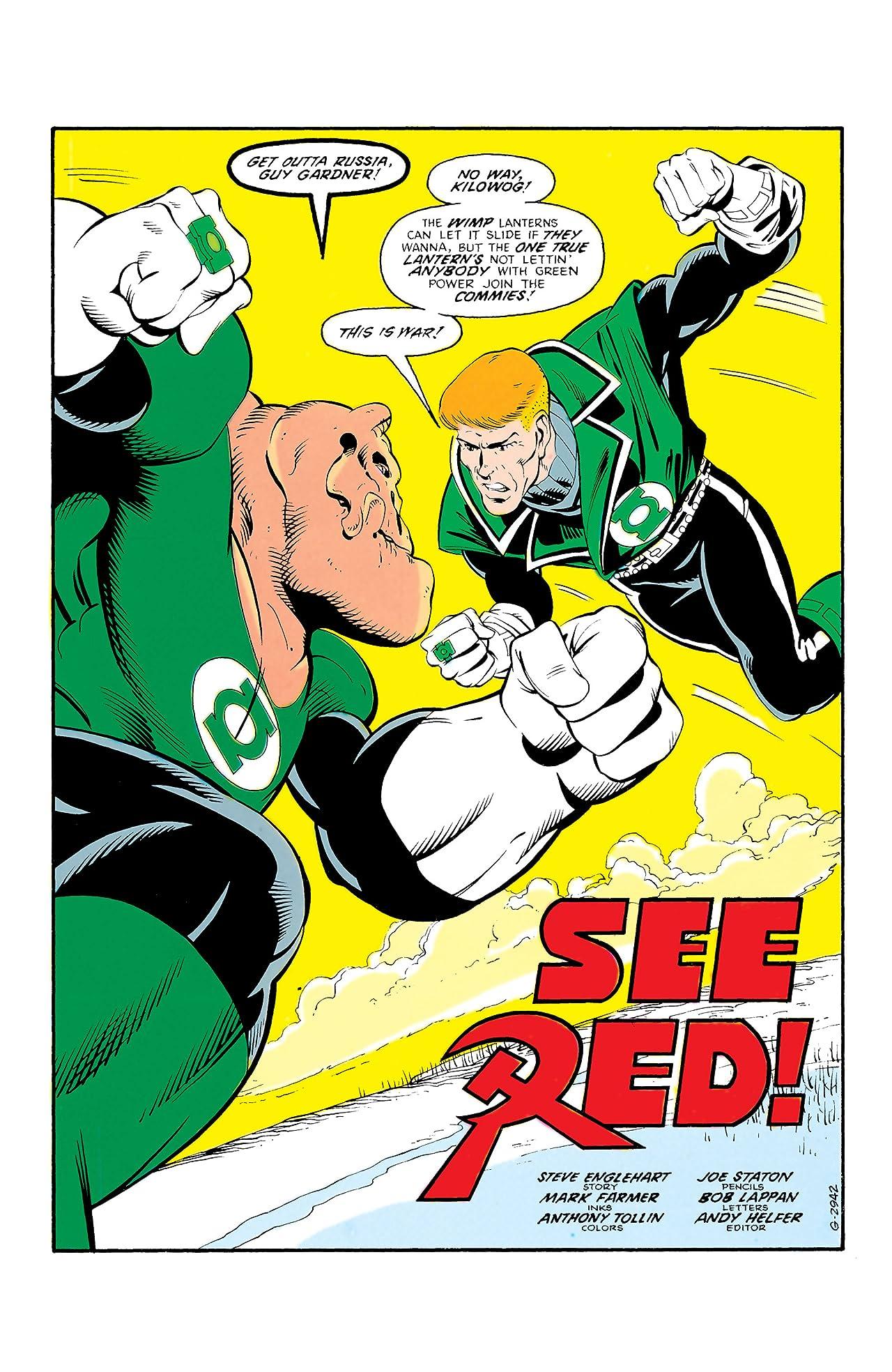 Green Lantern Corps (1986-1988) #210