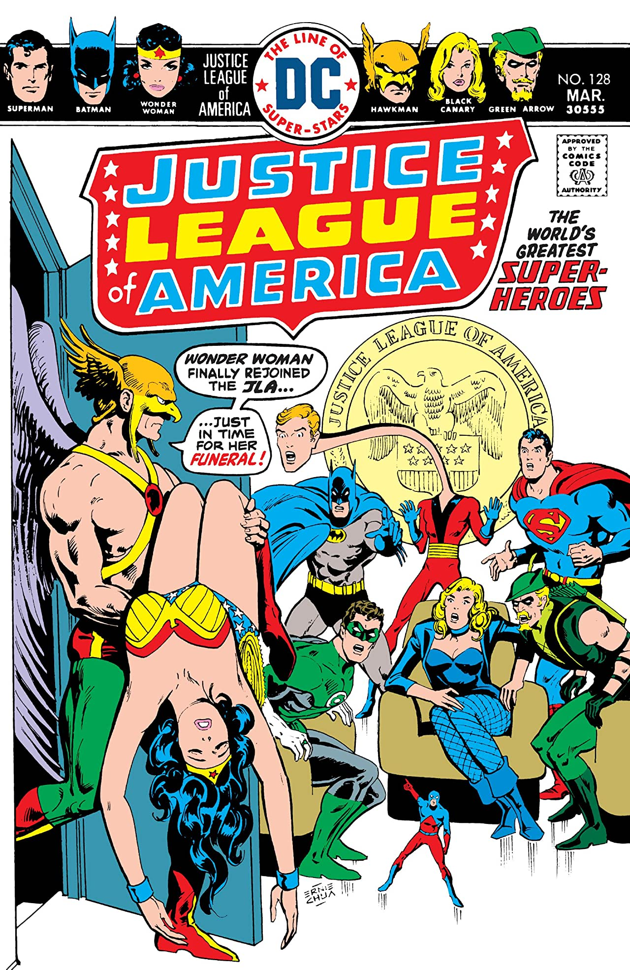 Justice League of America (1960-1987) #128