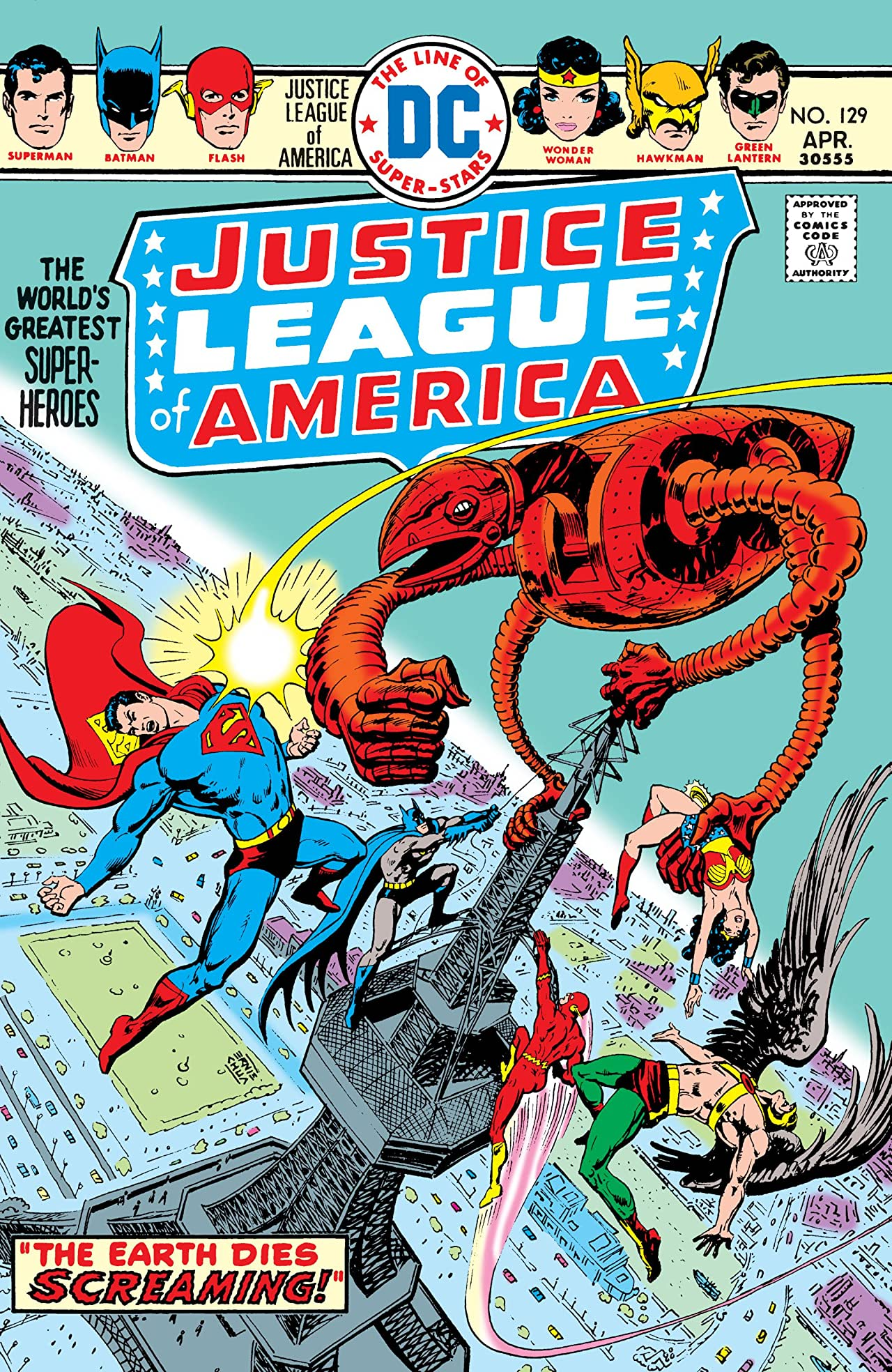 Justice League of America (1960-1987) #129