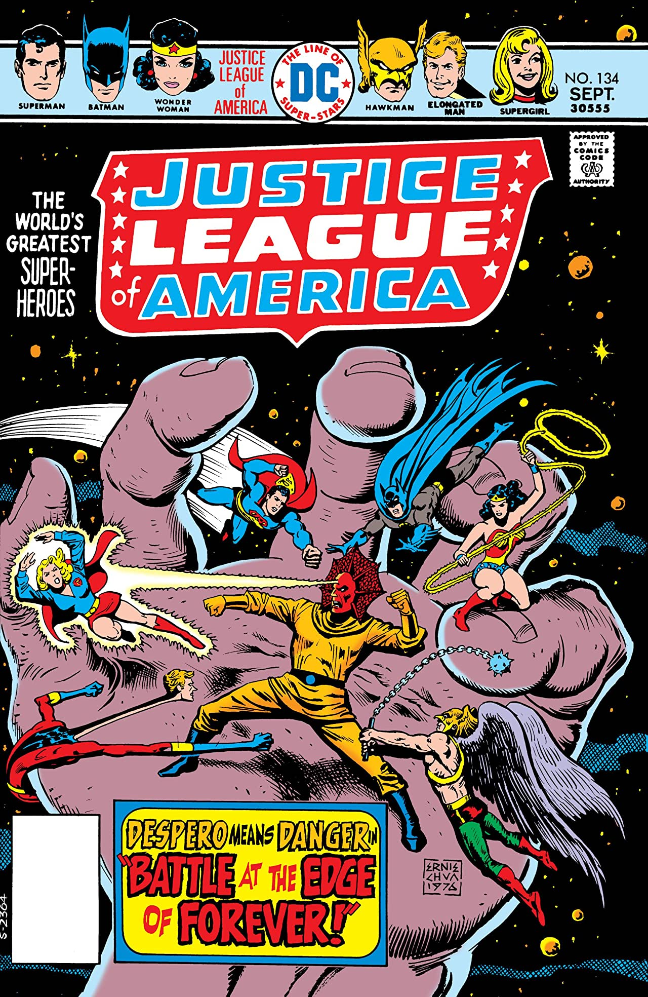 Justice League of America (1960-1987) #134