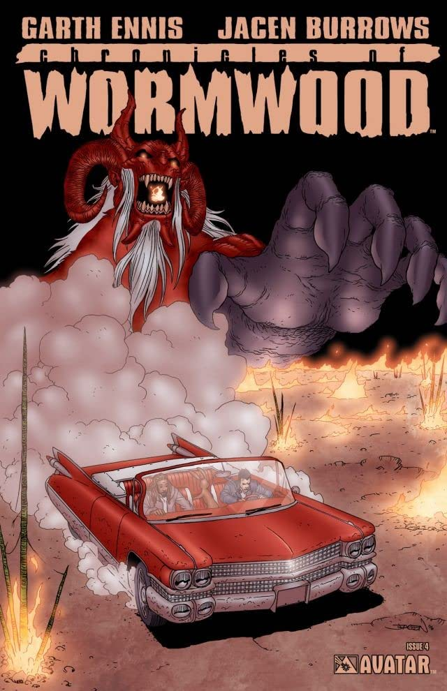 Chronicles of Wormwood #4 (of 6)