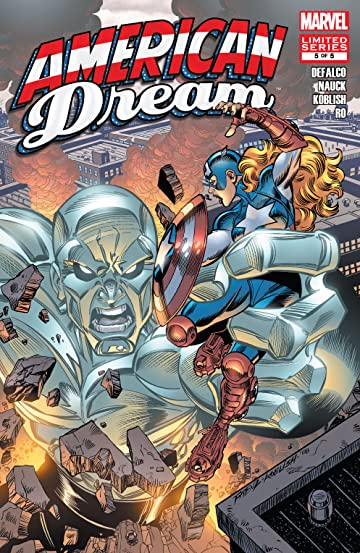 American Dream 2008 5 Comics By Comixology