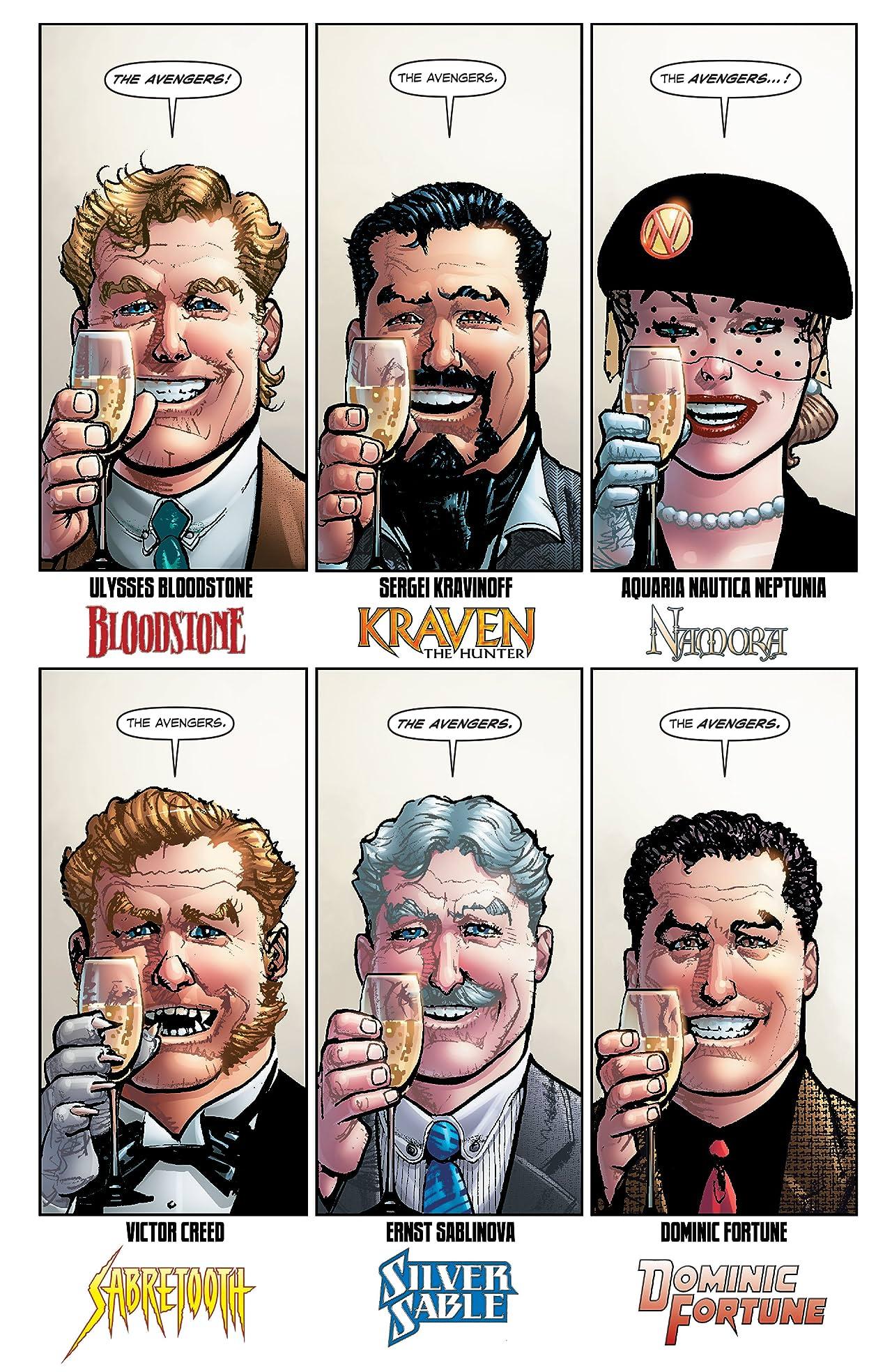 Avengers 1959 (2011-2012) #1 (of 5)