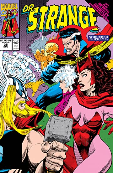 Doctor Strange: Sorcerer Supreme (1988-1996) #35