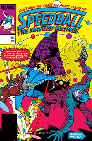 Speedball (1988-1989) #1