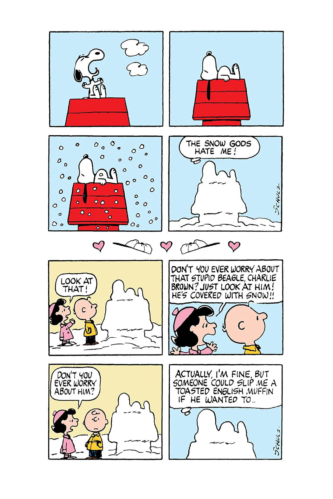 Snoopy: What's Wrong with Dog Lips?