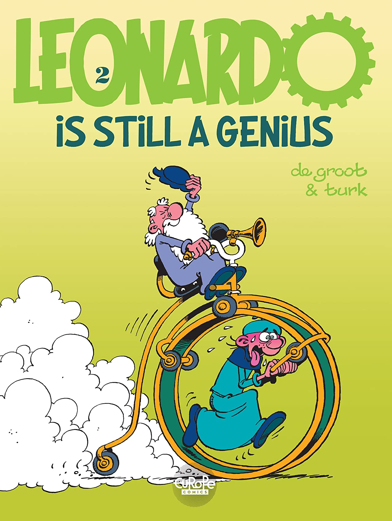 Leonardo Vol. 2: Leonardo is still a genius