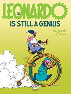 Leonardo Vol. 2: Leonardo is still a genius