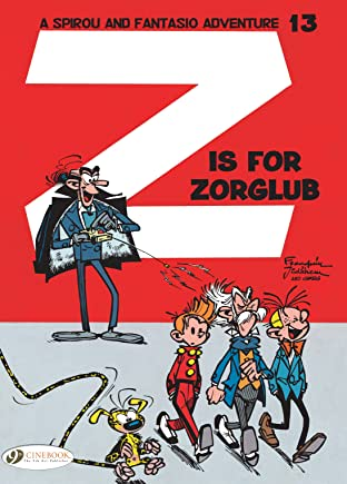 Spirou & Fantasio Vol. 13: Z is for Zorglub