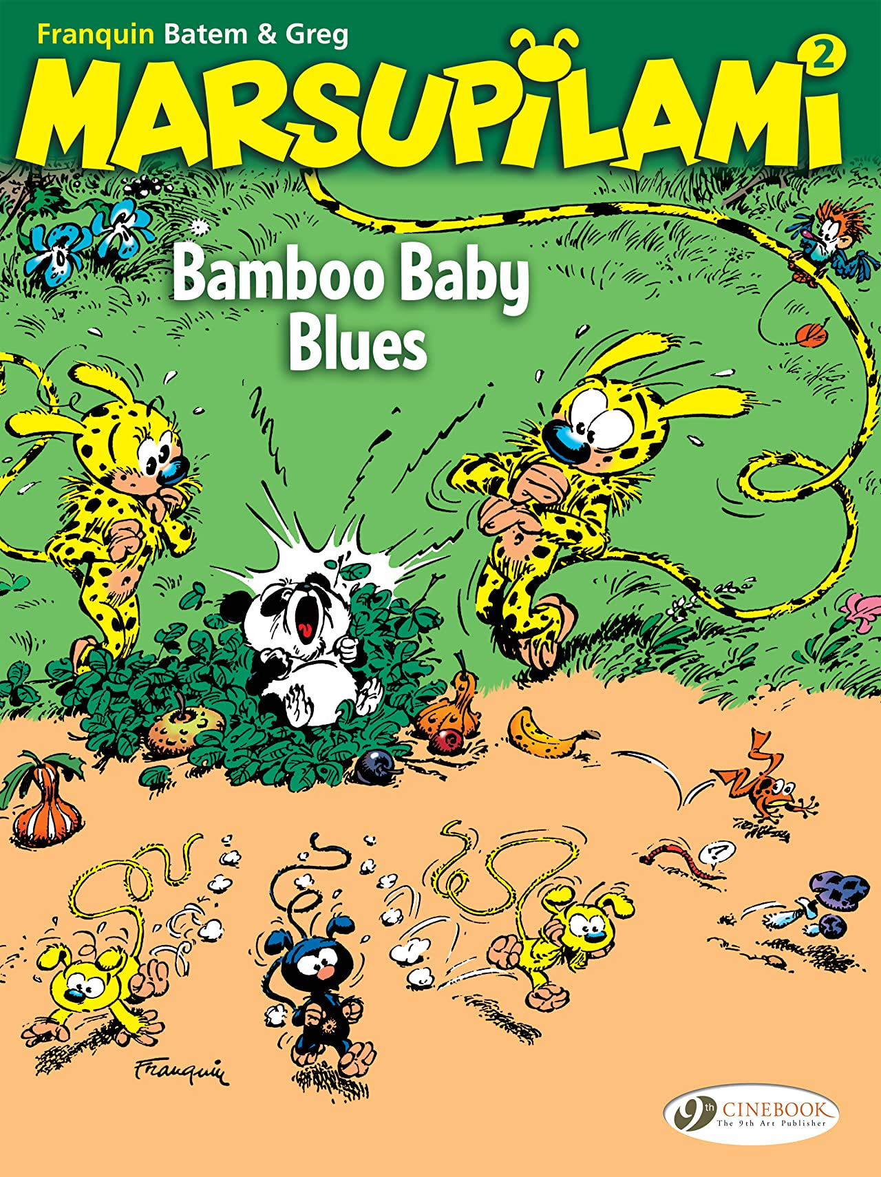 The Marsupilami Tome 2: Bamboo baby blues