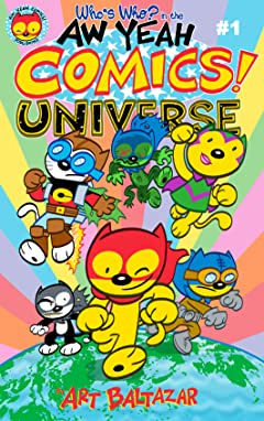 Who's Who in the Aw Yeah Comics Universe #1