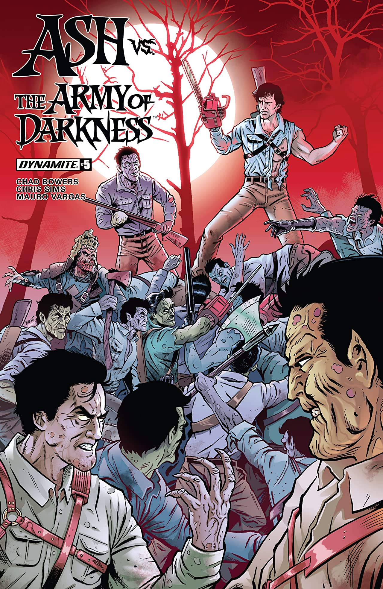 Ash Vs. The Army Of Darkness #5