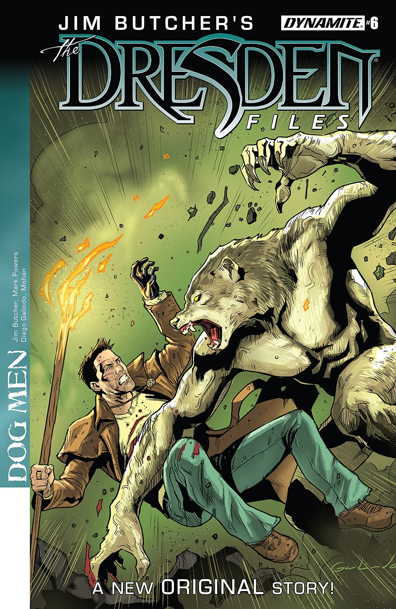 Jim Butcher's The Dresden Files: Dog Men #6