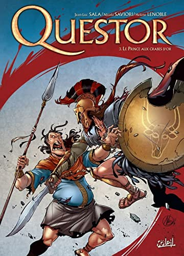 Questor Vol. 3: Le prince aux crabes d'or