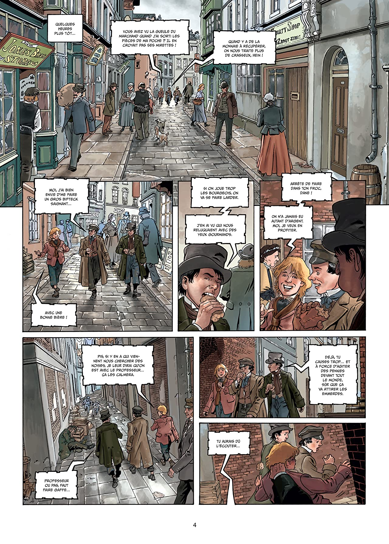 Sherlock Holmes crime alleys Vol. 2: Vocations forcées