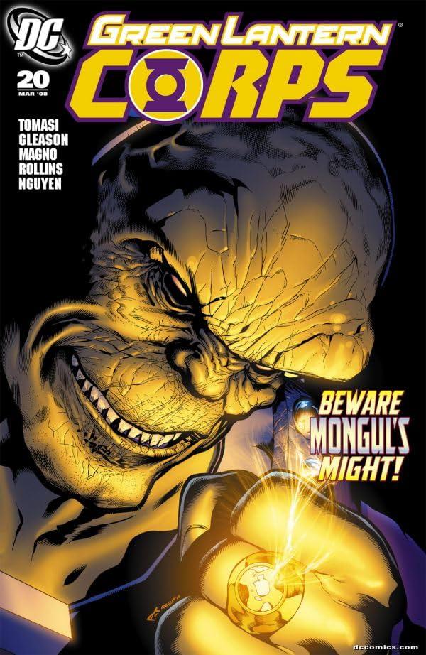 Green Lantern Corps (2006-2011) #20