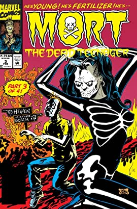 Mort The Dead Teenager #3 (of 4)