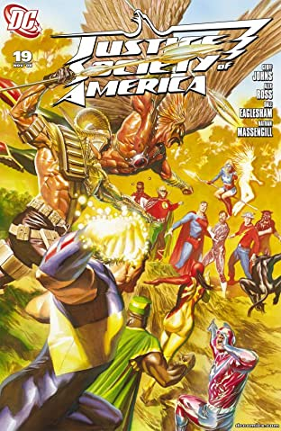 Justice Society of America (2007-2011) #19