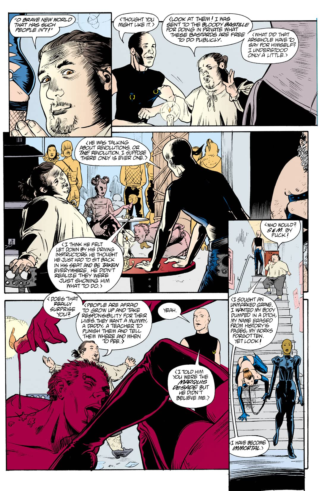 The Invisibles #8