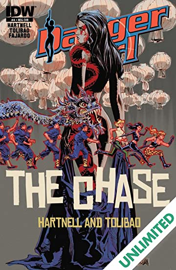 Danger Girl: The Chase! #4 (of 4)