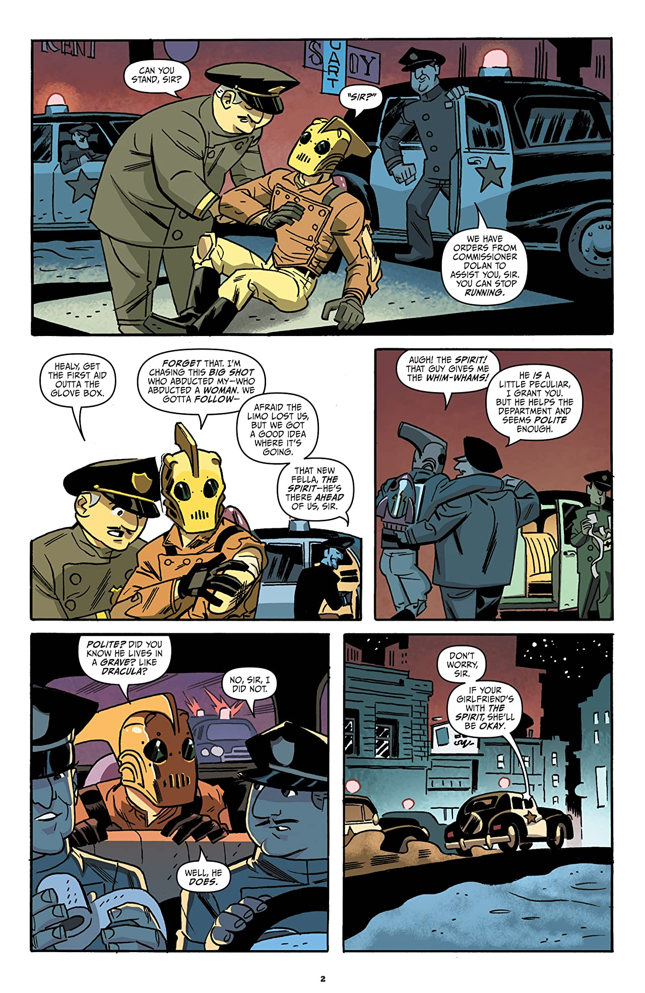 Rocketeer/The Spirit: Pulp Friction! #4 (of 4)