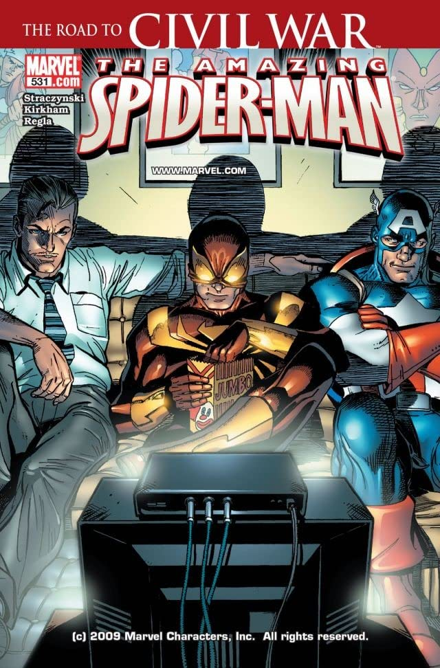 Amazing Spider-Man (1999-2013) #531