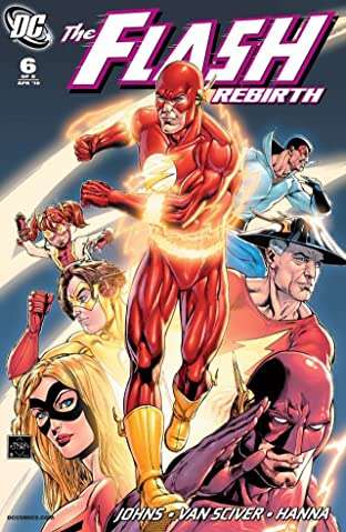 The Flash: Rebirth (2009-2010) #6 (of 6)
