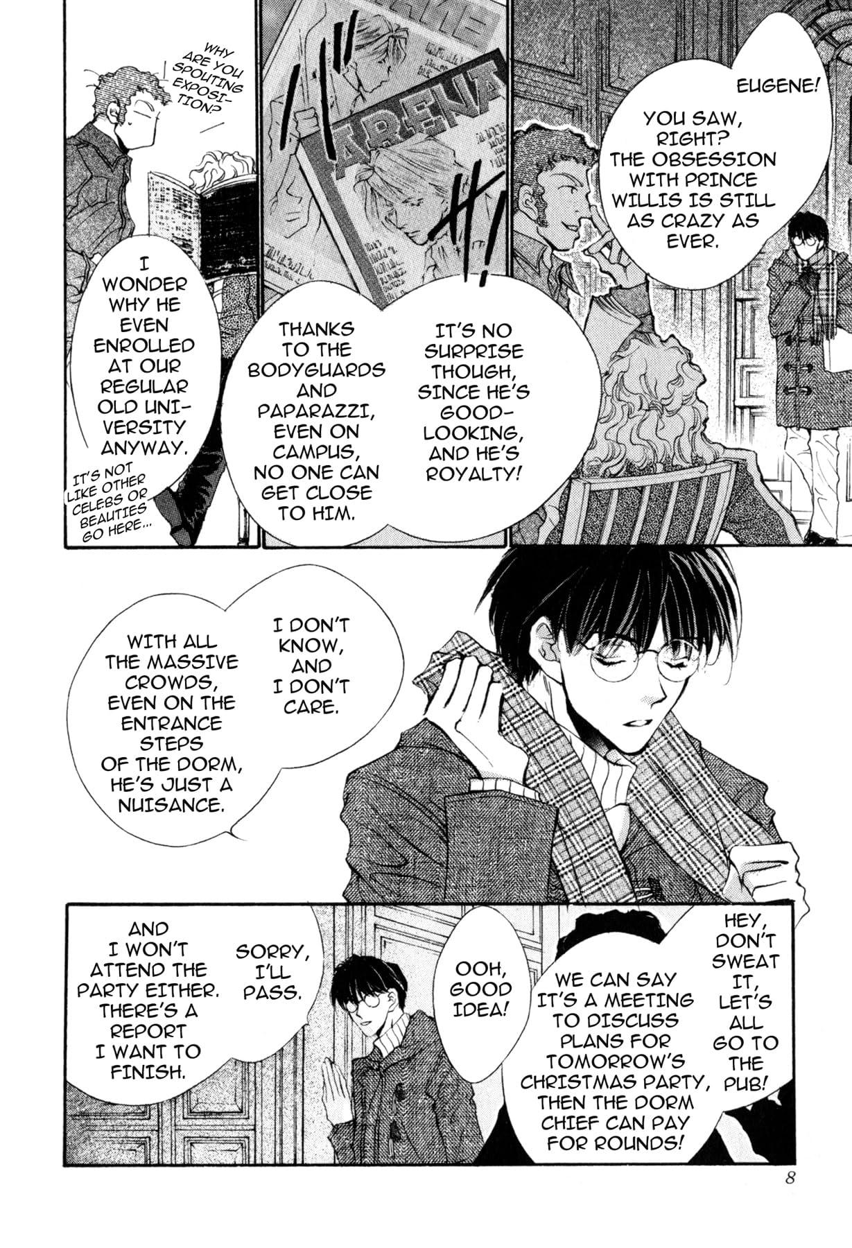 TRICKY PRINCE (Yaoi Manga) Vol. 1