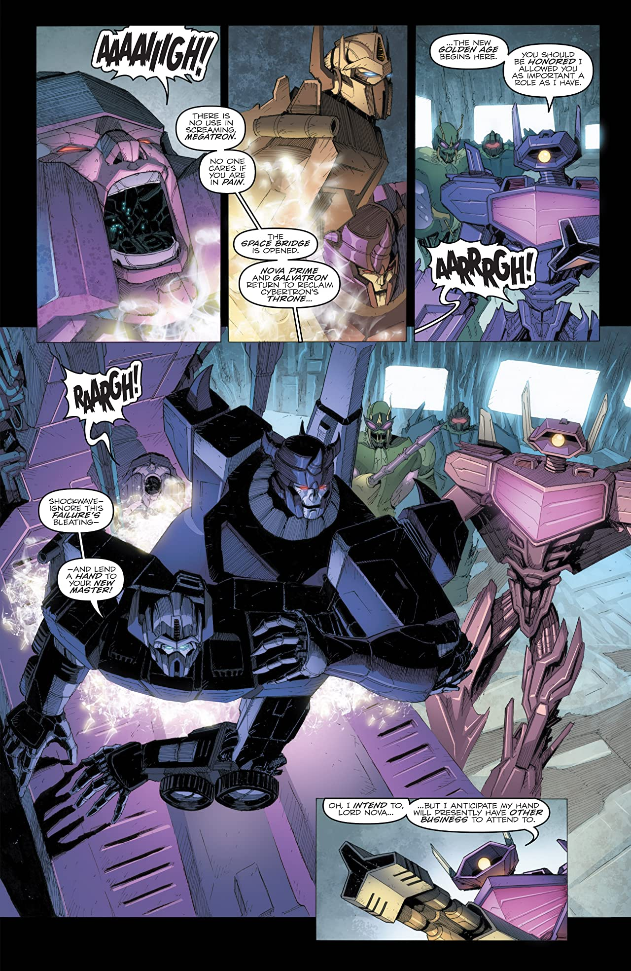 Transformers: Robots In Disguise (2011-) #24: Dark Cybertron Part 5