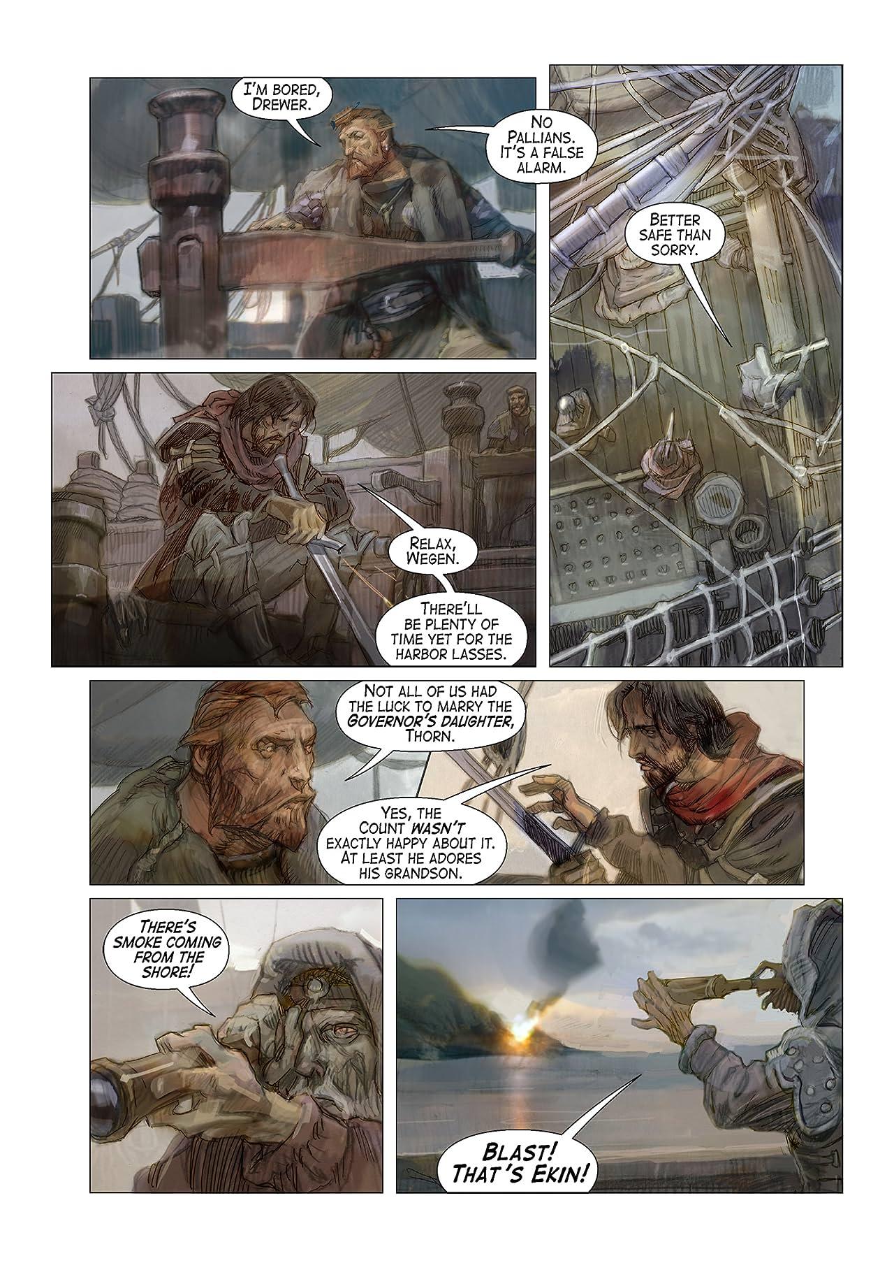 Ash of Gods - Comics