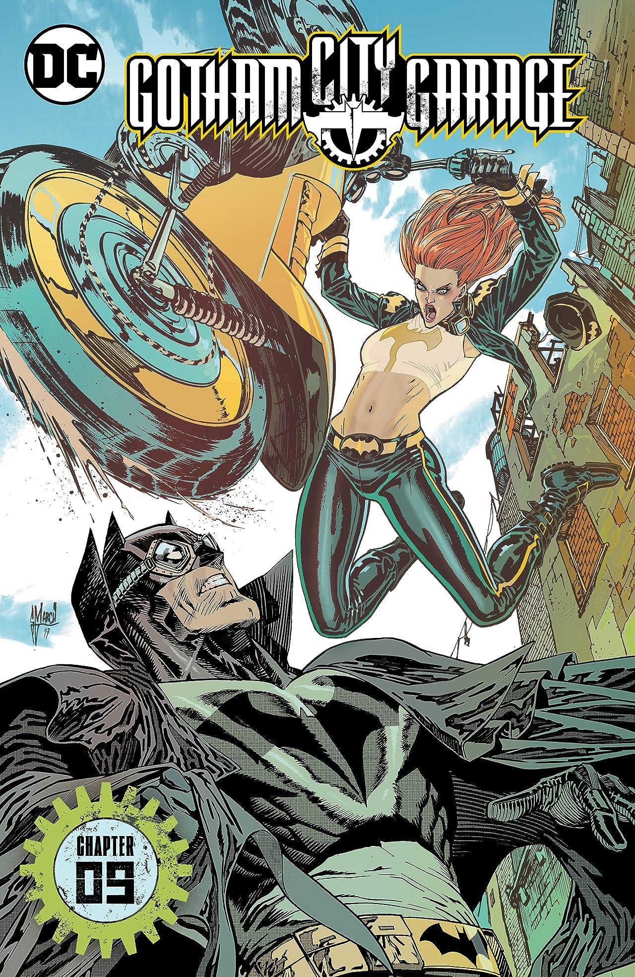 Gotham City Garage (2017-) #9