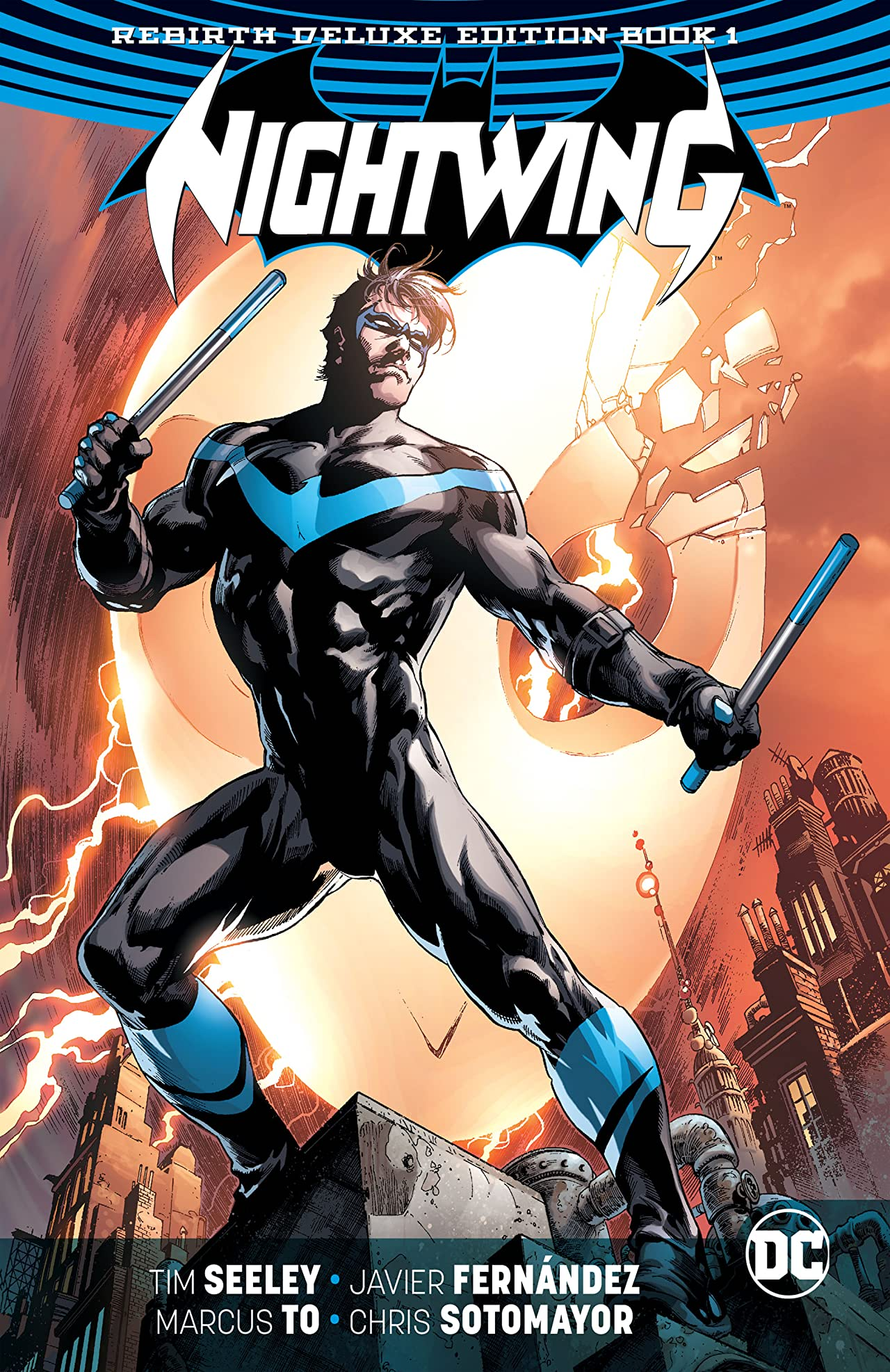 Nightwing: The Rebirth Deluxe Edition - Book 1