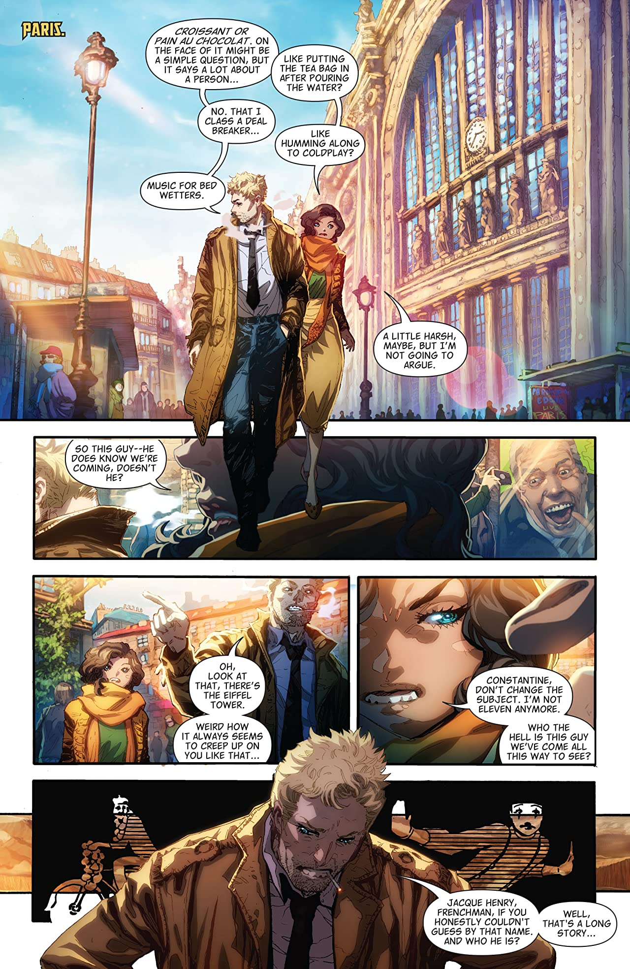 The Hellblazer (2015-) Vol. 2: The Smokeless Fire