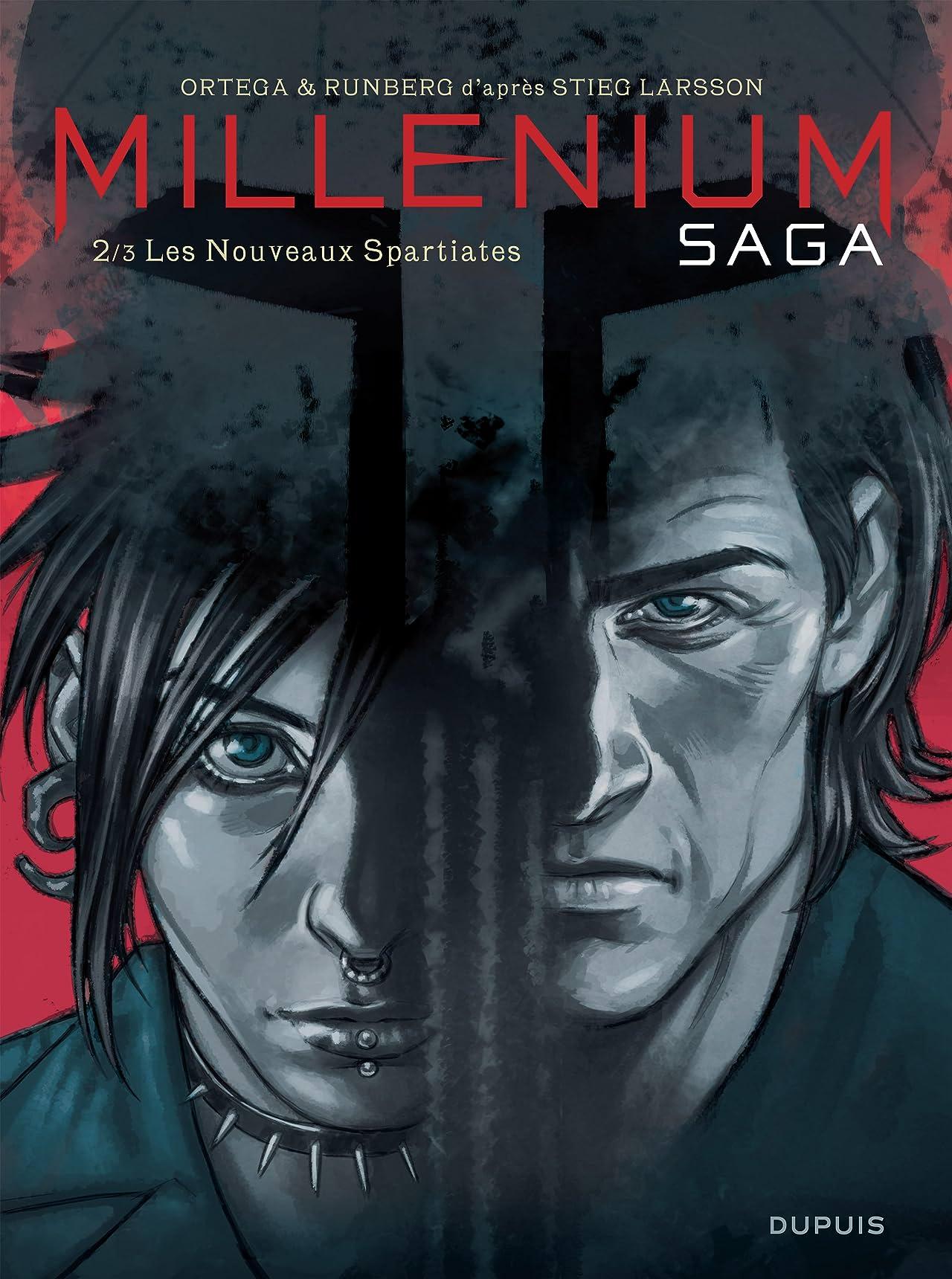 Millénium saga Vol. 2: Les Nouveaux Spartiates