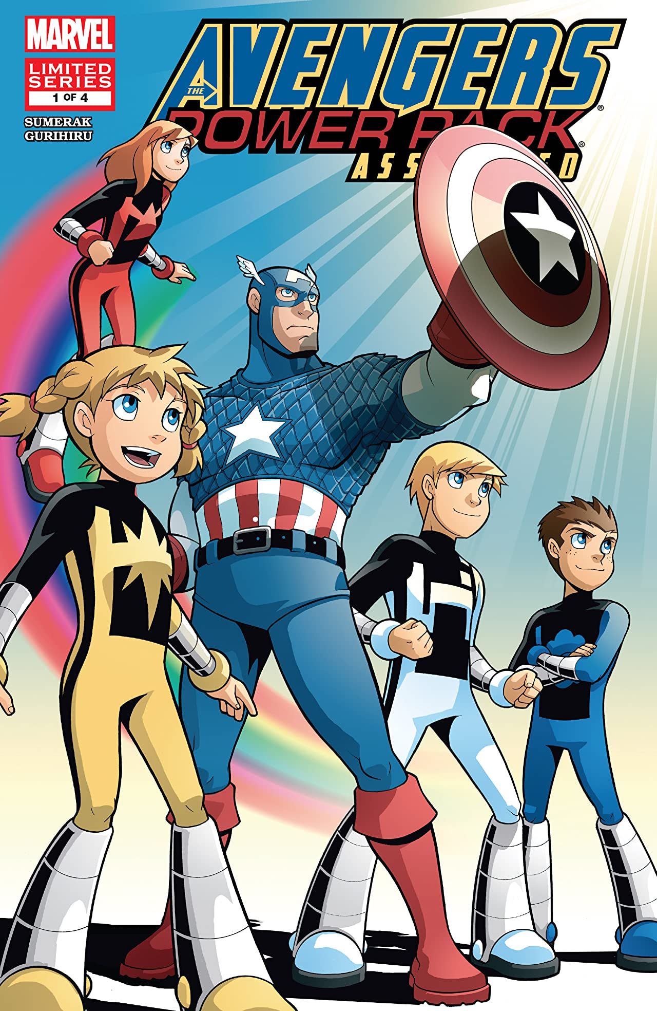 Avengers and Power Pack Assemble! (2006) #1