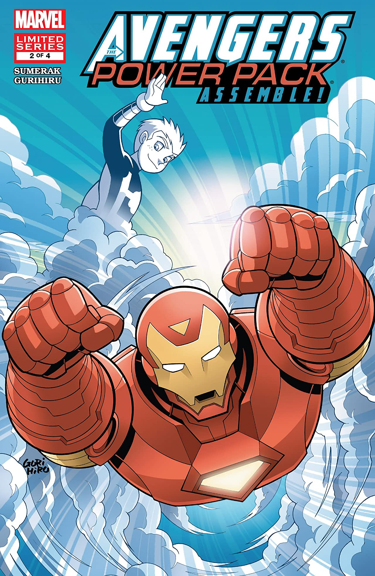 Avengers and Power Pack Assemble! (2006) #2
