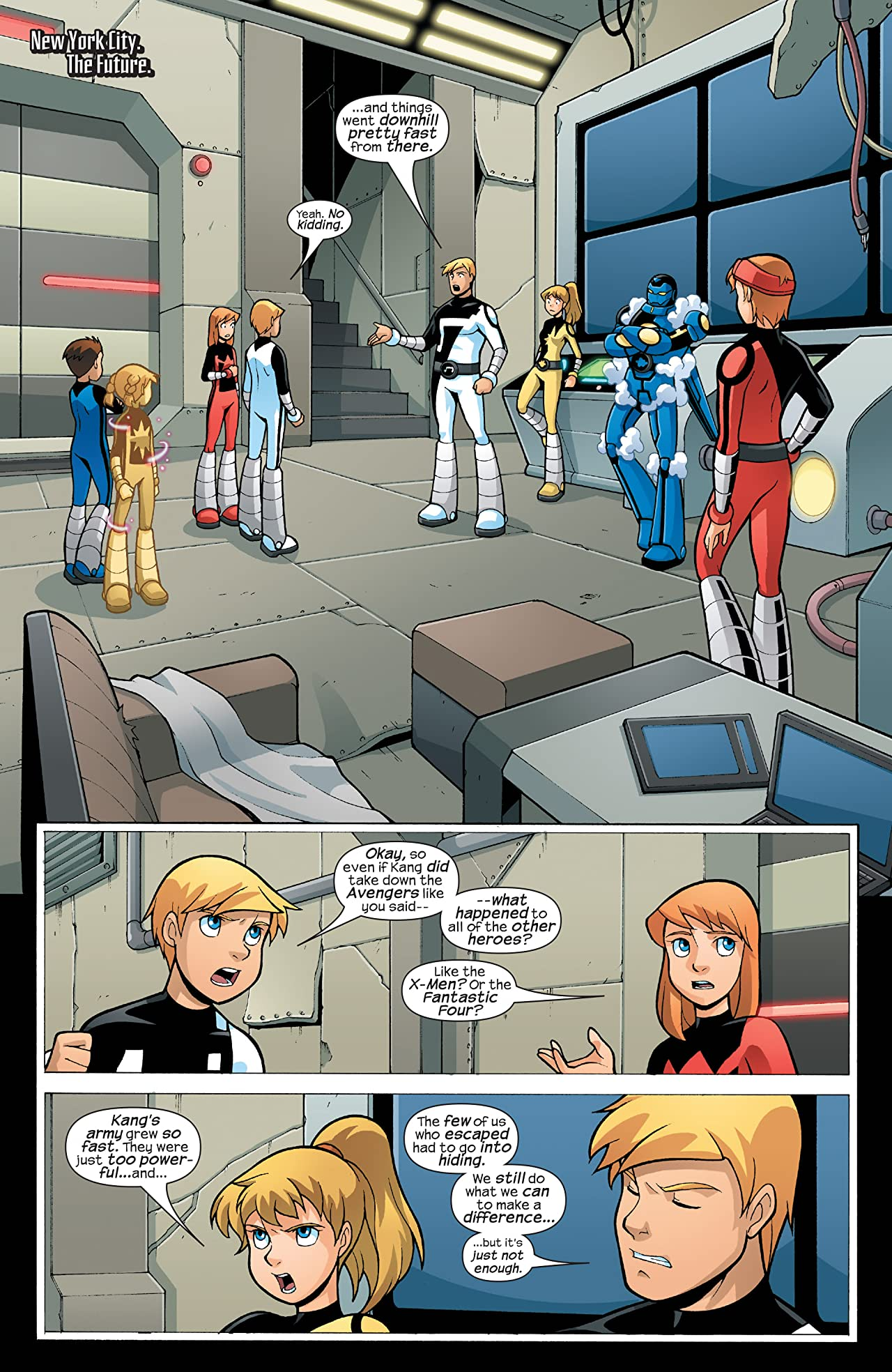 Avengers and Power Pack Assemble! (2006) #4