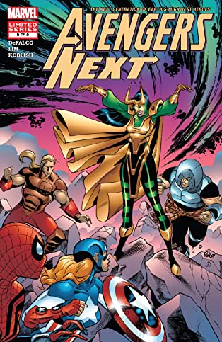 Avengers Next (2006) #5