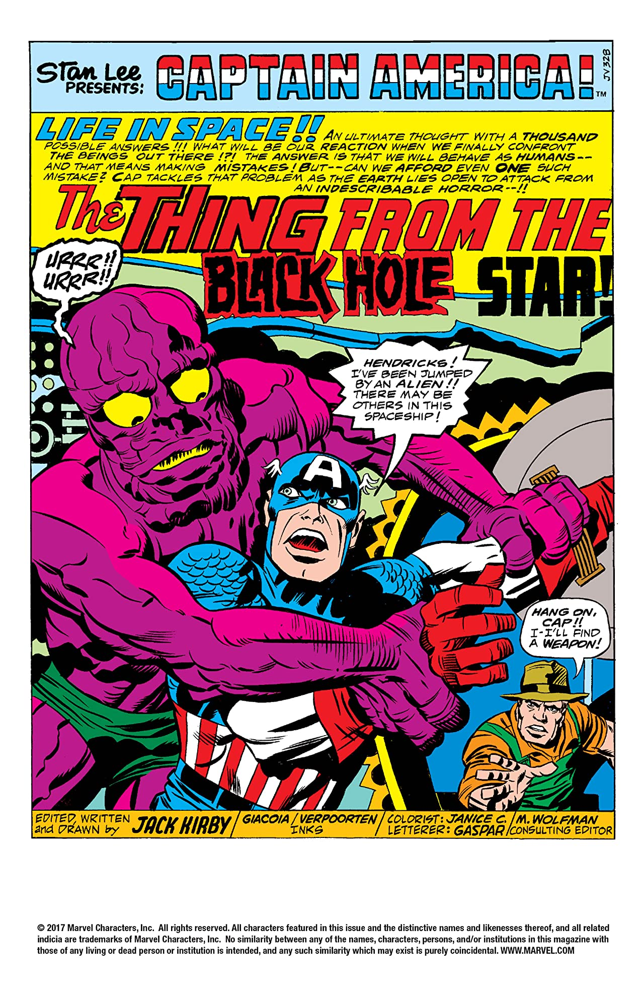 Captain America (1968-1996) Annual #3