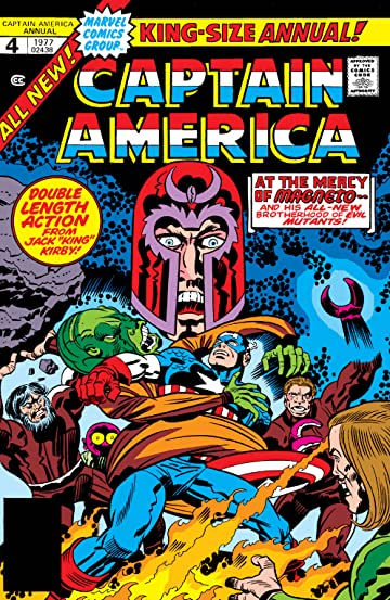 Captain America (1968-1996) Annual #4