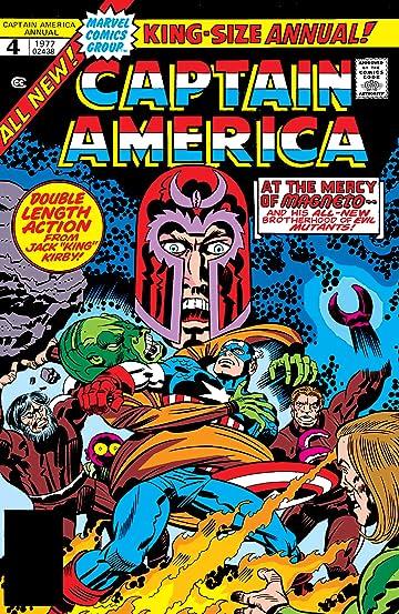 Captain America (1968-1996) Annual #4