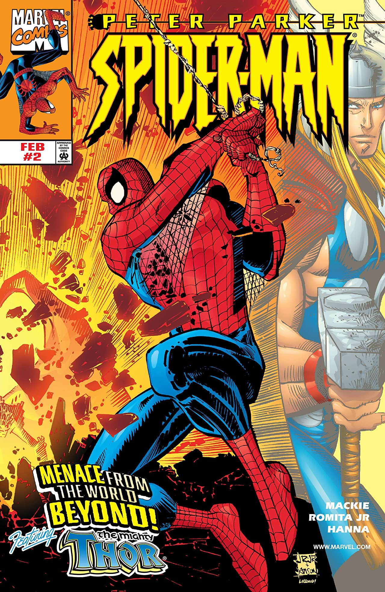 Peter Parker: Spider-Man (1999-2003) #2