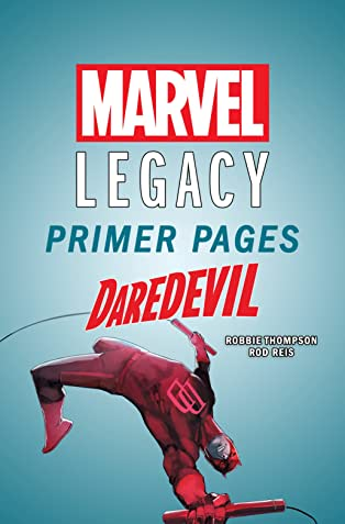 Daredevil - Marvel Legacy Primer Pages