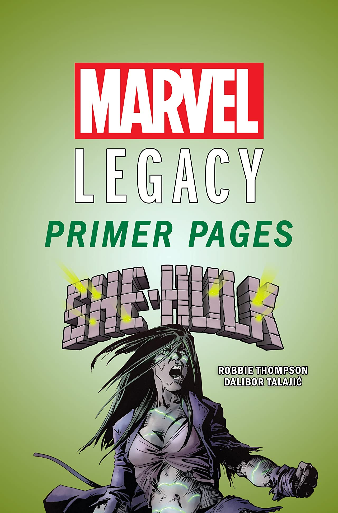 She-Hulk - Marvel Legacy Primer Pages