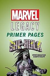 She-Hulk - Marvel Legacy Primer Pages