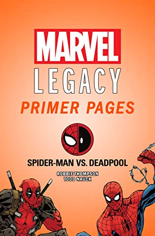 Spider-Man/Deadpool - Marvel Legacy Primer Pages