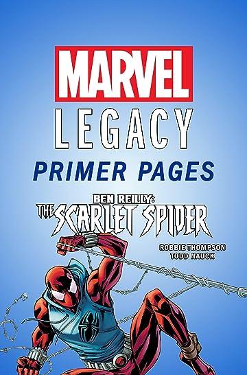 Ben Reilly: Scarlet Spider - Marvel Legacy Primer Pages